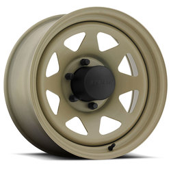 U.S. Wheel 8 Spoke Stealth 704 - Desert Sand - 16.5x9.75