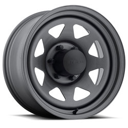 U.S. Wheel 8 Spoke Stealth 704 - Gunmetal - 16.5x9.75