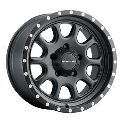 U.S. Wheel Aluminum Stealth (Series 771) - Matte Black Rim
