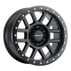U.S. Wheel Aluminum Stealth (Series 772) Simulated Beadlock - Matte Black Rim