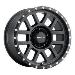 U.S. Wheel Aluminum Stealth (Series 772) - Matte Black Rim