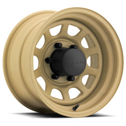 U.S. Wheel Daytona Stealth 804 - Desert Sand Rim - 15x12