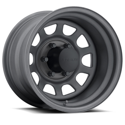 U.S. Wheel Daytona Stealth 804 - Gunmetal Rim - 16x10