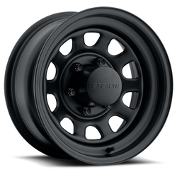 U.S. Wheel Daytona Stealth 804 - Matte Black Rim - 16x10