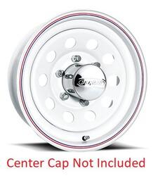 U.S. Wheel 93 Modular - Gloss White Rim - 15x6