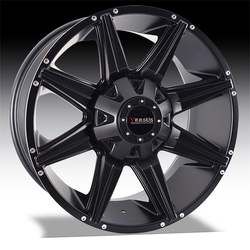 Versus Wheels Diesel - Satin Black Rim