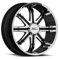Milanni Wheels 446 Kool Whip - Gloss Black Machined Face Rim