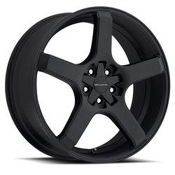 Milanni Wheels 464 VK-1 - Satin Black Rim - 22x8.5