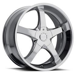Milanni Wheels 465 Vengeance - Chrome - 26x9.5