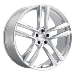 Milanni Wheels 475 Clutch - Hyper Silver Rim