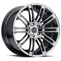 Milanni Wheels 9032 Khan - Phantom Chrome Rim - 22x10.5