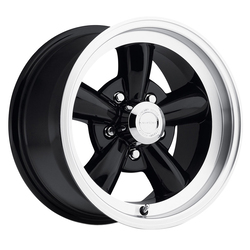 Vision Wheels Vision Wheels Legend 5 - Gloss Black Machined Lip - 17x9