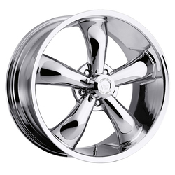 Vision Wheels 142 Legend 5 - Chrome Rim - 17x8.5