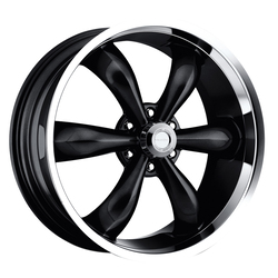 Vision Wheels 142 Legend 6 - Gloss Black Machined Lip