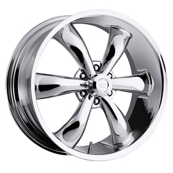 Vision Wheels 142 Legend 6 - Chrome Rim - 22x9.5