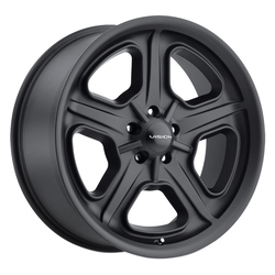 Vision Wheels 147 Daytona - Satin Black Rim - 15x7