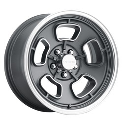Vision Wheels 148 Shift - Satin Grey Machined Face/Lip - 15x70