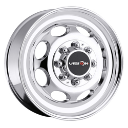 Vision Wheels 181NR Hauler Duallie - Chrome Rim
