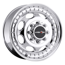 Vision Wheels 181 Hauler Duallie - Chrome Rim - 16x6