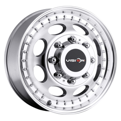 Vision Wheels 181 Hauler Duallie - Machined Rim - 16x6