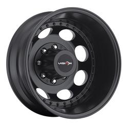 Vision Wheels 181 Hauler Duallie - Gloss Black Rim