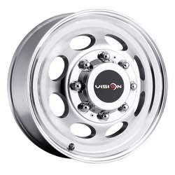 Vision Wheels 181NR Hauler Duallie - Machined Rim