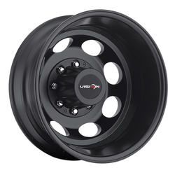 Vision Wheels 181 Hauler Duallie - Matte Black