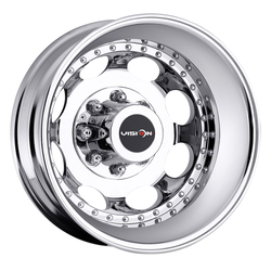 Vision Wheels 181 Hauler Duallie - Chrome Rim