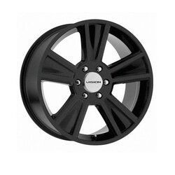 Vision Wheels Stunner - Satin Black Rim