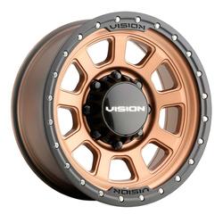 Vision Wheels 350 Ojos - Bronze Rim - 18x9