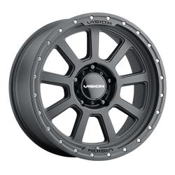 Vision Wheels 350 Ojos - Satin Black Rim - 17x9