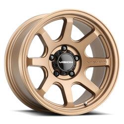 Vision Wheels 351 Flow - Bronze Rim - 17x8
