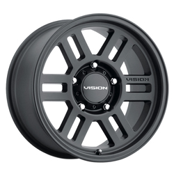 Vision Wheels 355 Overland - Satin Black Rim