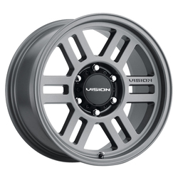 Vision Wheels 355 Overland - Grey Rim