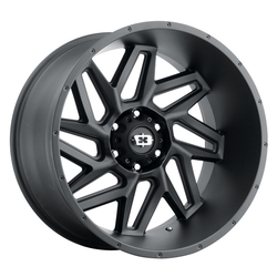 Vision Wheels 361 Spyder - Satin Black