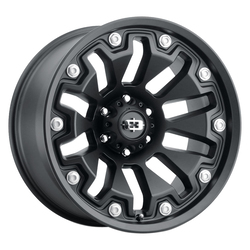 Vision Wheels 362 Armor - Satin Black Rim