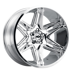 Vision Wheels 363 Razor - Chrome Rim - 22x10