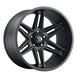 Vision Wheels 363 Razor - Satin Black Rim