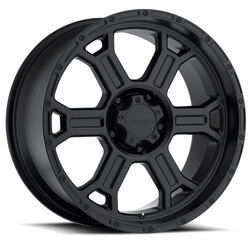 Vision Wheels 372 Raptor - Matte Black Rim - 16x8