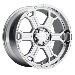 Vision Wheels 372 Raptor - Phantom Chrome - 20x9.5