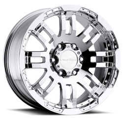 Vision Wheels 375 Warrior - Phantom Chrome Rim - 20x9