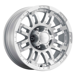 Vision Wheels 375 Warrior - Winter Paint-Silver (Salt Resistant) Rim