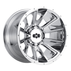 Vision Wheels 391 Rebel - Chrome Rim