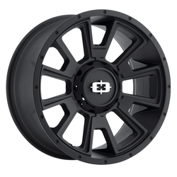 Vision Wheels 391 Rebel - Satin Black Rim