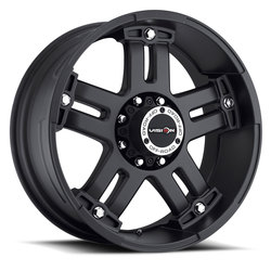 Vision Wheels 394 Warlord - Matte Black
