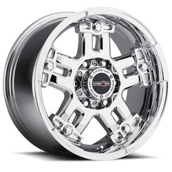 Vision Wheels 394 Warlord - Chrome Rim - 22x9.5