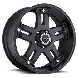 Vision Wheels 394 Warlord - Matte Black Rim
