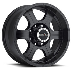 Vision Wheels 396 Assassin - Matte Black Rim - 17x8.5