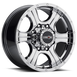Vision Wheels 396 Assassin - Phantom Chrome Rim - 20x9