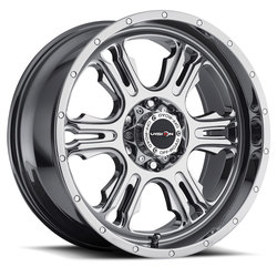Vision Wheels 397 Rage - Phantom Chrome Rim